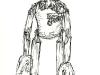 Minister Sketch by Kay Yasugi 2008