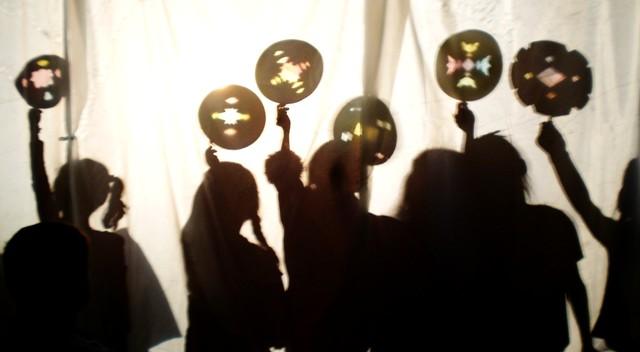Shadow puppetry workshop for Kindergarten - Year 2