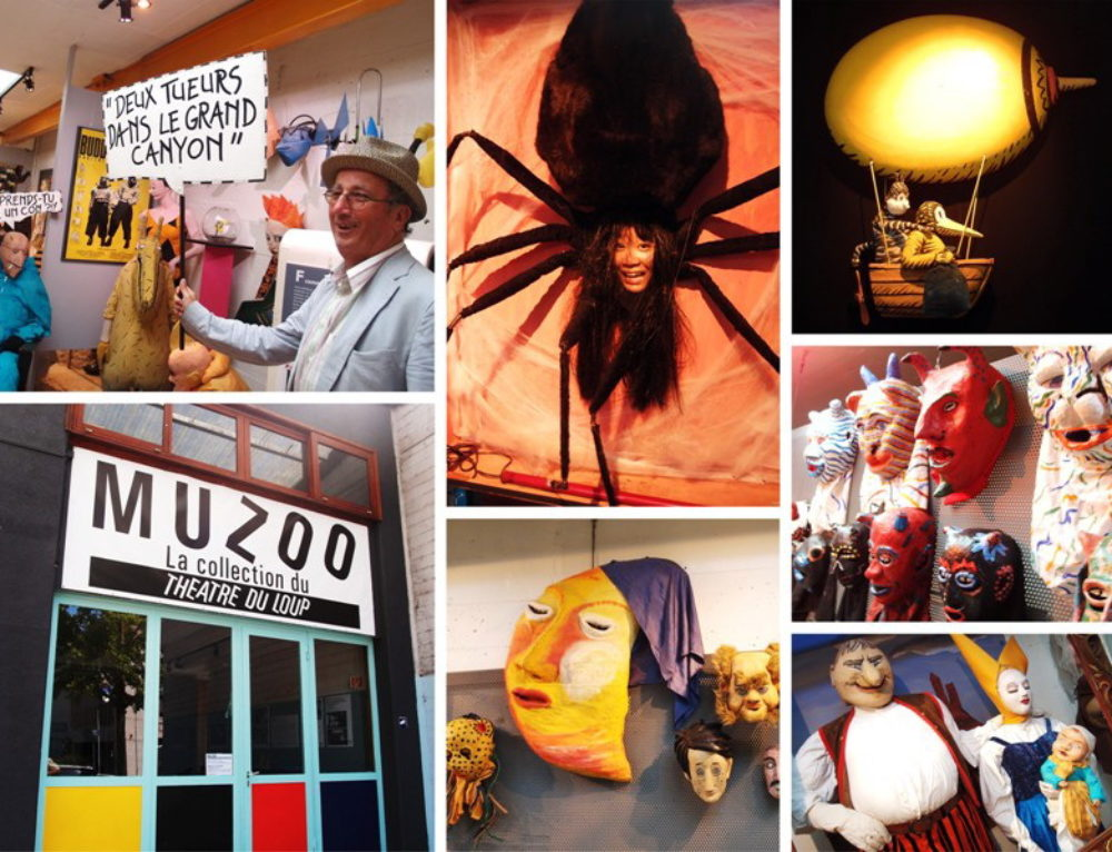 Spiders, Masks and a Giant Moon: Visiting Théâtre du Loup in Geneva