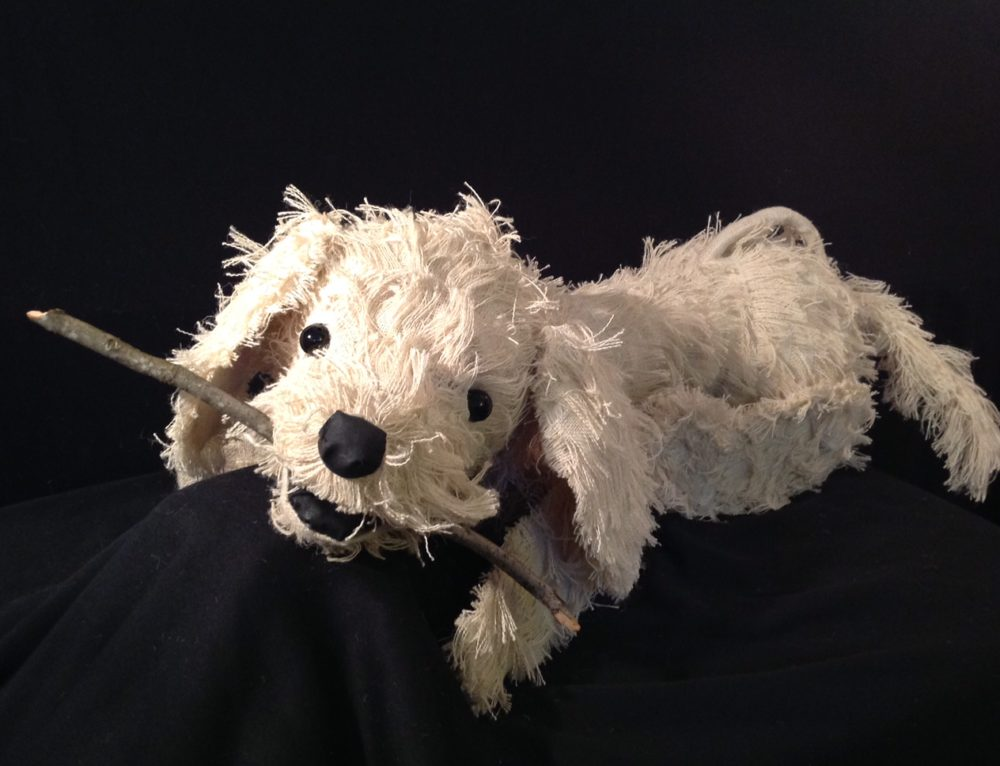 A Dog Puppet with an Important Story to Tell