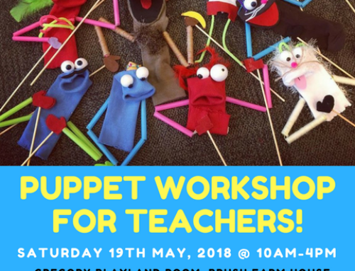 Upcoming Puppetry Workshop for Teachers in Sydney!